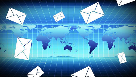 Global emails Animation