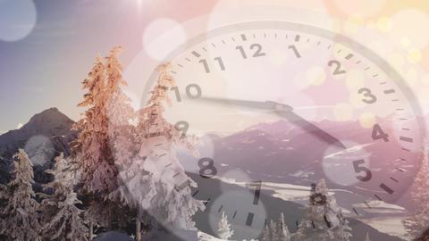 Winter season ending Animation