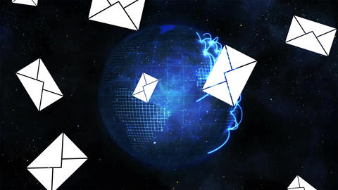 Digital global messages Animation