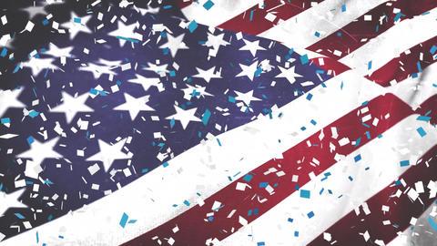 Independence day celebration Animation