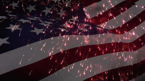 Fourth of July in America Animation