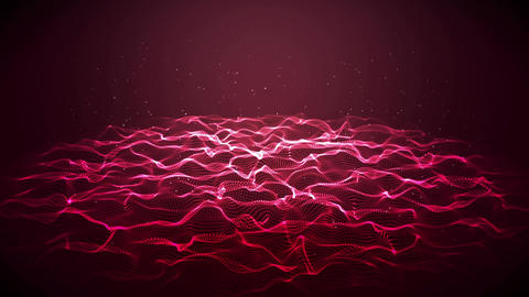 Lightning and underwater waves Animation