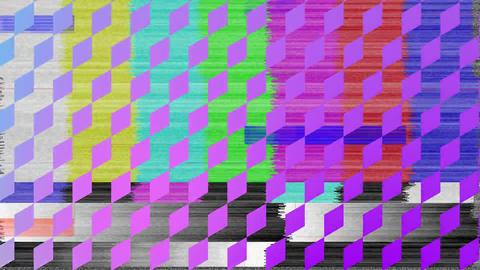 Diamond patterns and static Animation