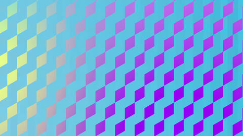 Diamond patterns and vertical lines Animation