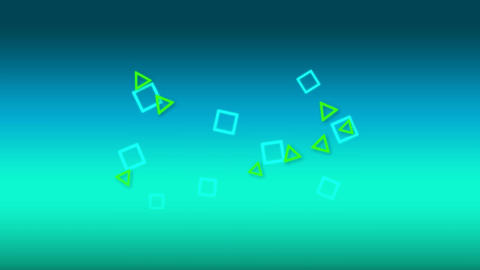 Squares and triangles Animation