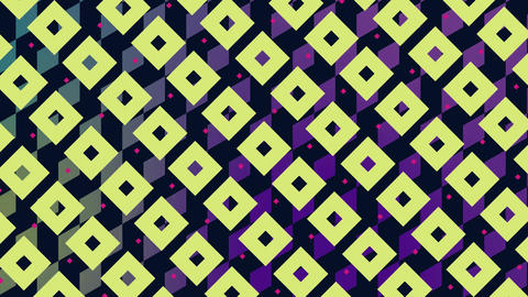Diamond and square patterns Animation