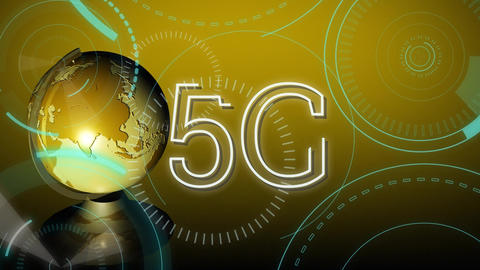 Global 5G internet speed Animation