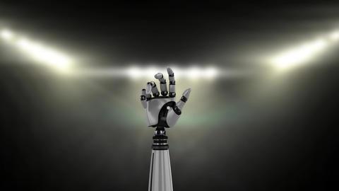 Robotic hand Animation