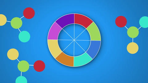 Colour wheel Animation