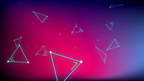 Triangles with static noise Animation