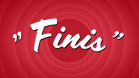Finis sign and circle patterns Animation