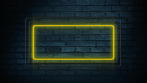 Rectangle lead lights Animation