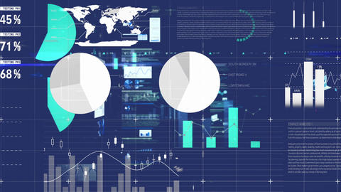 Different graphs and statistics Animation
