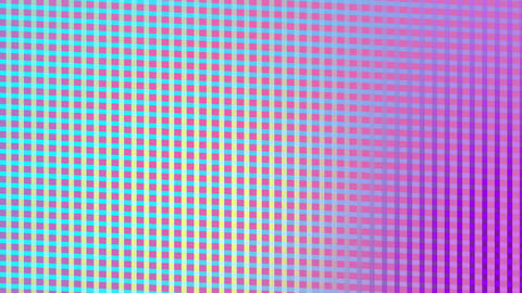 Colourful relective mesh texture Animation