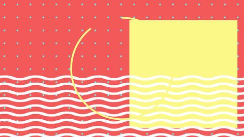 Colorful shapes Animation