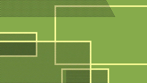 Rectangles on a green background Animation