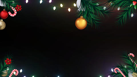 Christmas Animated Frame 4 Animation