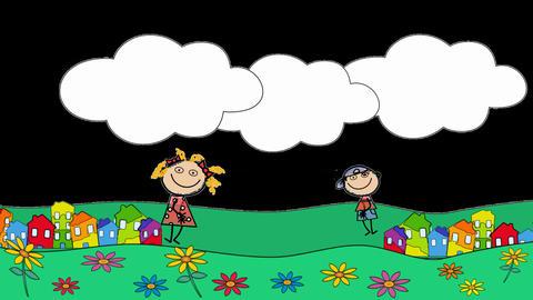 Logo Kids Animation