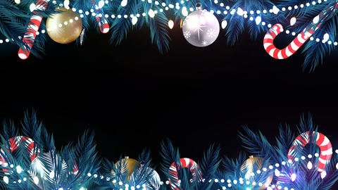 Christmas Animated Frame 5 Animation