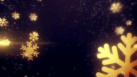 Merry Christmas Snowflakes Background Animation Stock Animation Animation