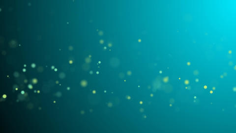 Slow Moving Wiggly Particles Motion Background Full HD (Loopable) Animation