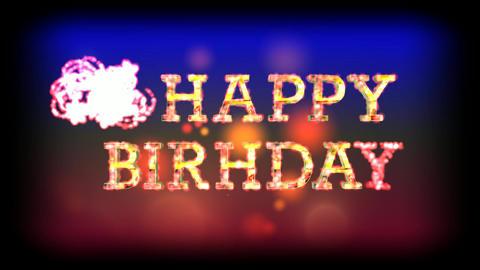 255 3d animated greeting card HAPPY BIRTHDAY Animation