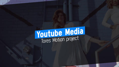YouTube Media Modern Motion Graphics Template