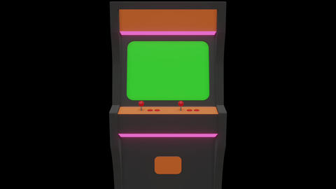 Low poly Game enclosure 3D Model