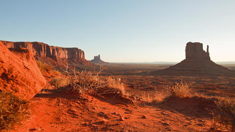 Monument Valley Dawn Time Lapse Live Action