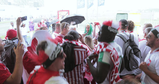 Football fans of Poland Live Action