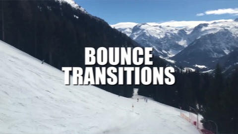 Bounce Transitions Premiere Pro Template
