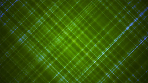 Broadcast Intersecting Hi-Tech Slant Lines, Green, Abstract, Loopable, 4K Animation