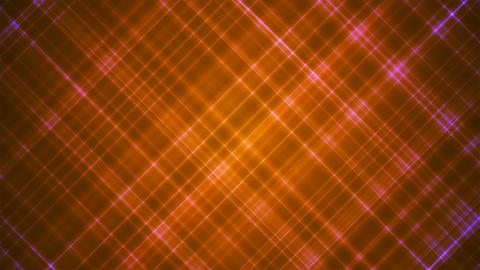 Broadcast Intersecting Hi-Tech Slant Lines, Orange, Abstract, Loopable, 4K Animation