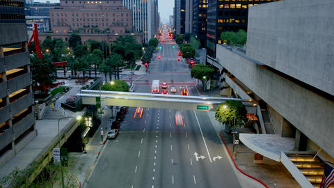 Los Angeles Traffic Time Lapse Footage