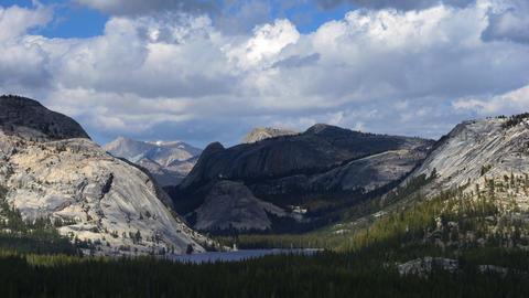 Yosemite Landscape Time Lapse Footage
