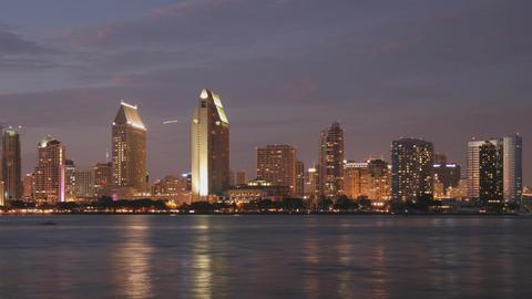 San Diego Skyline Time Lapse Footage