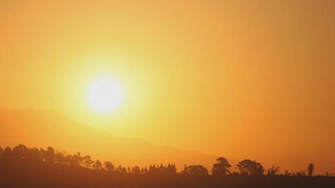 Sunrise Mountains Time Lapse Footage