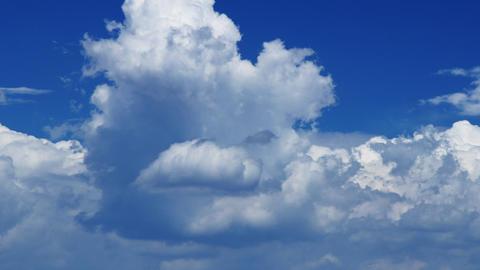Time Lapse Clouds BLue Sky Footage