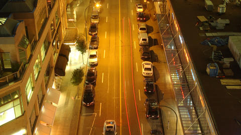 Vancouver Street Time Lapse Footage