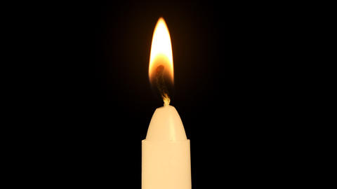 Macro Igniting Candle Footage