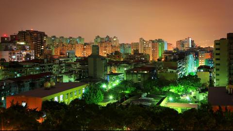 Taipei Cityscape Time Lapse Footage