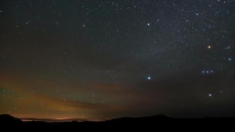 Stars Sky Night Time-Lapse Footage