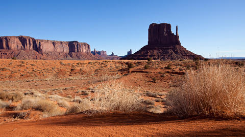 Monument Valley Dawn Time Lapse Footage