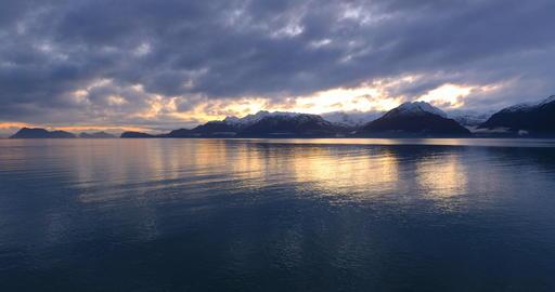 Falls seas in Alaska