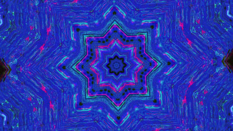 Casual vintage futuristic kaleidoscope, fashion iridescent background Live Action