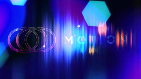 Colorful Lights Logo Reveal After Effects Template