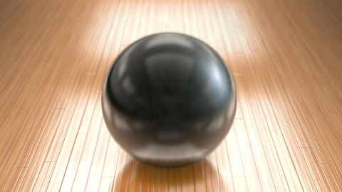Bowling Ball Run Animation