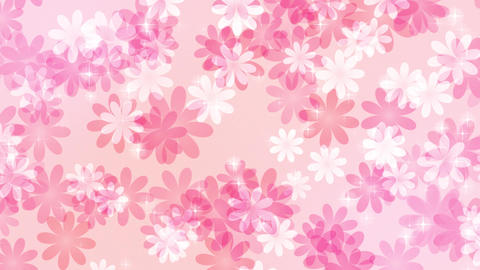Flower-pastel-lateral-direction-pink Animation