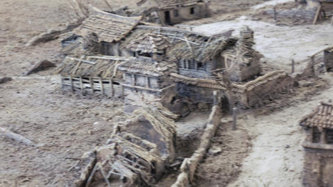 Layout scenery Chinese village Live Action