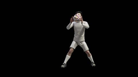 Soccer Goalie Catch GIF